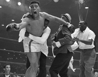 Beating the odds, Olympic Gold Medalist, Cassius Clay, defeated Sonny Liston, to become Heavyweight Champion of the World.